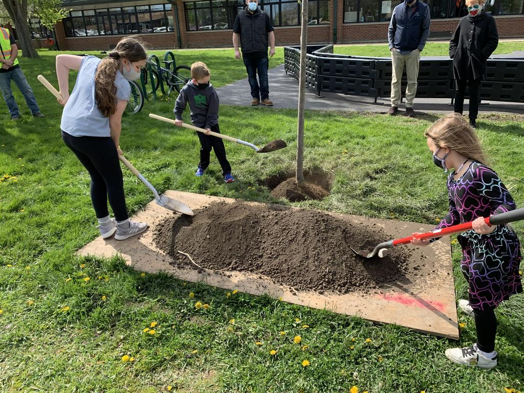 Kipling Celebrates Arbor Day With Tree Planting Ceremony