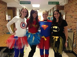 Kipling 3rd Grade Teachers at Halloween