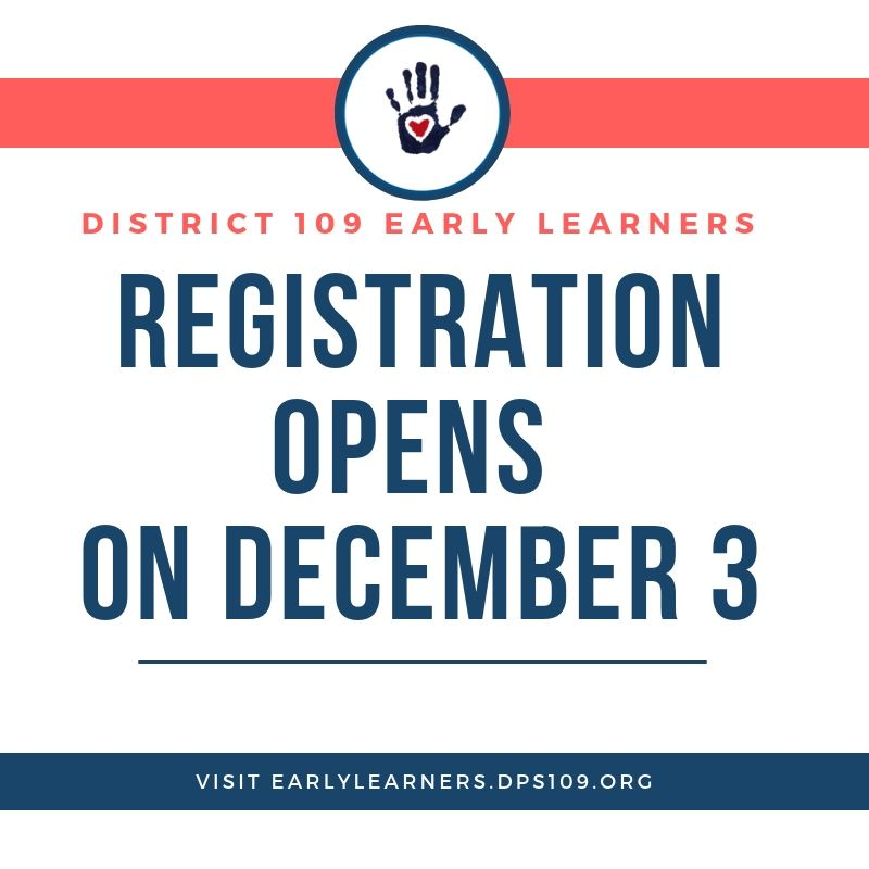 Early Learners Registration