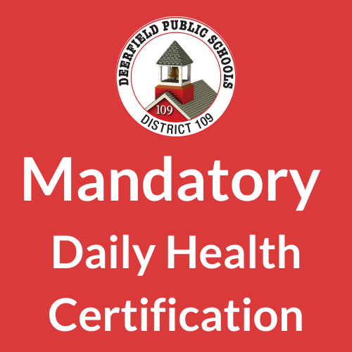 Daily Health Certification Links